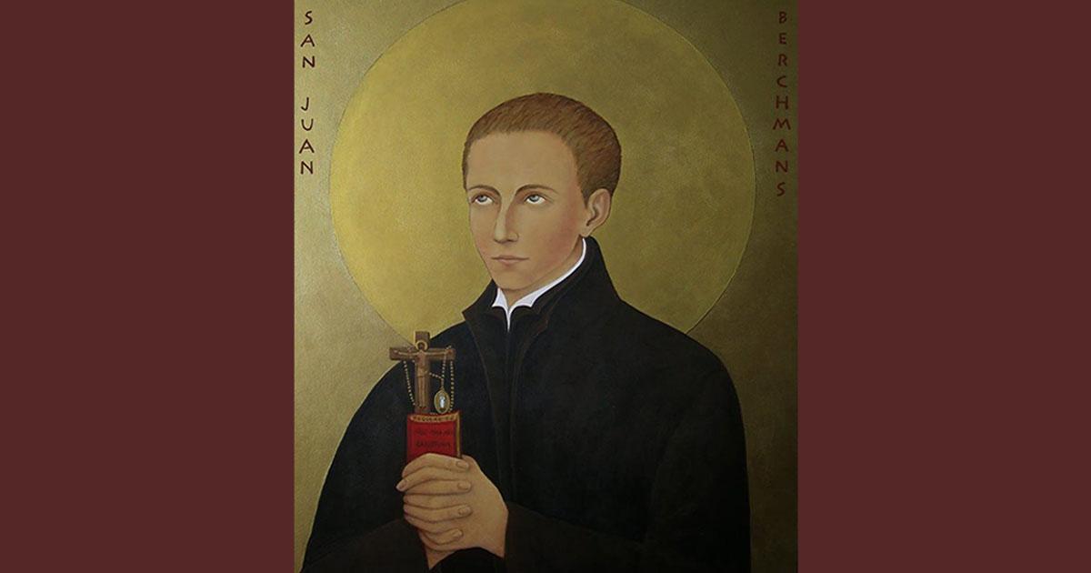Recordando el 400 aniversario de la muerte de San Juan Berchmans