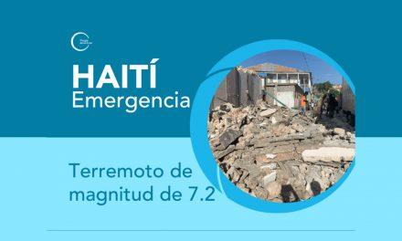 Jesuitas en Haití reportan situación del país tras terremoto 7.2