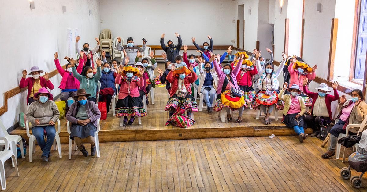 Ruta del Barroco Andino brindó taller sobre equidad de género