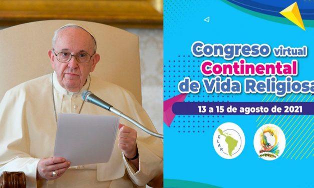Francisco envía mensaje a religiosos y religiosas de América Latina y el Caribe