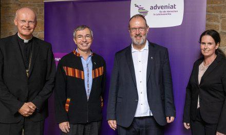 Jesuita alemán asume la dirección de Adveniat