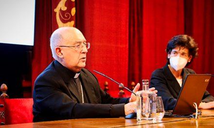 El Cardenal Barreto disertó sobre la actualidad de San Ignacio en la Iglesia