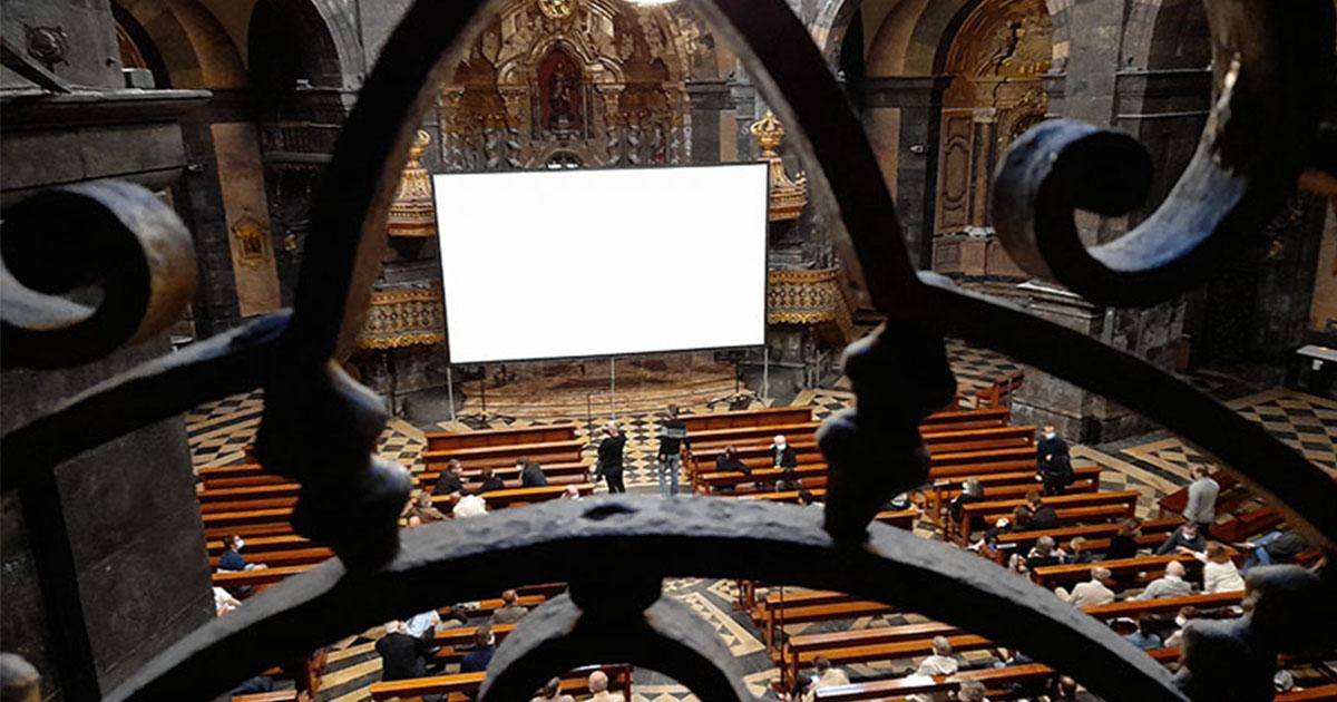 """Estreno de la película """"Íñigo"""" en la basílica de Loyola"""