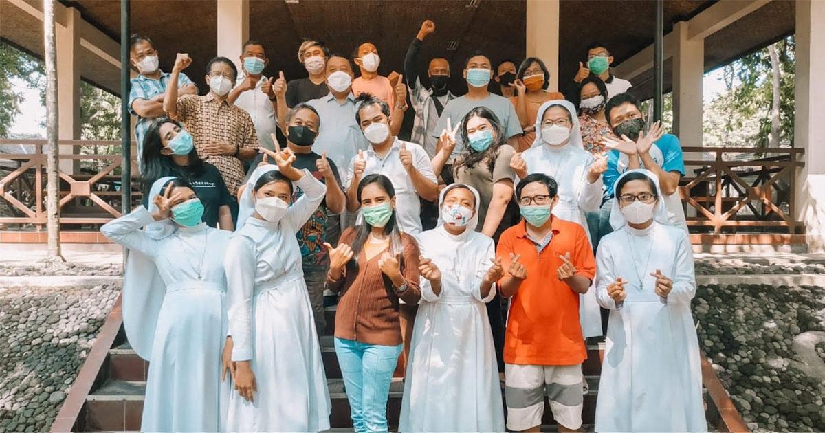 Kampoeng Media un complejo jesuita que se convirtió en un refugio Covid-19