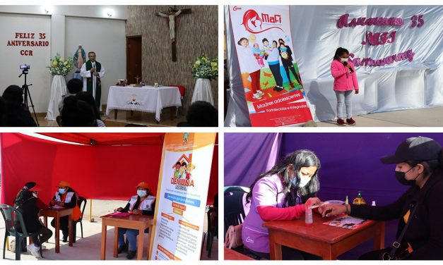 Centro Cristo Rey celebró 35 años de vida institucional