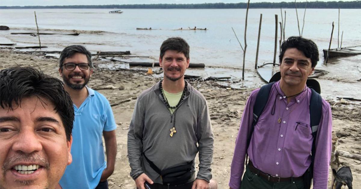 Provincial en Colombia: visita al Servicio Jesuita Panamazónico