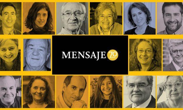 """Revista Mensaje celebra Aniversario con """"70 mensajes para el futuro"""""""