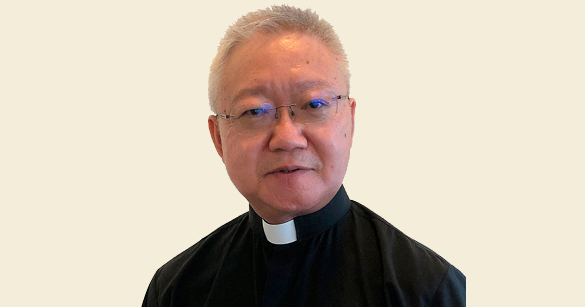 El P. Stephen Tong SJ, nuevo Provincial de la Provincia china