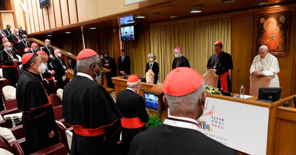 Papa Francisco abre el Sínodo de la Sinodalidad